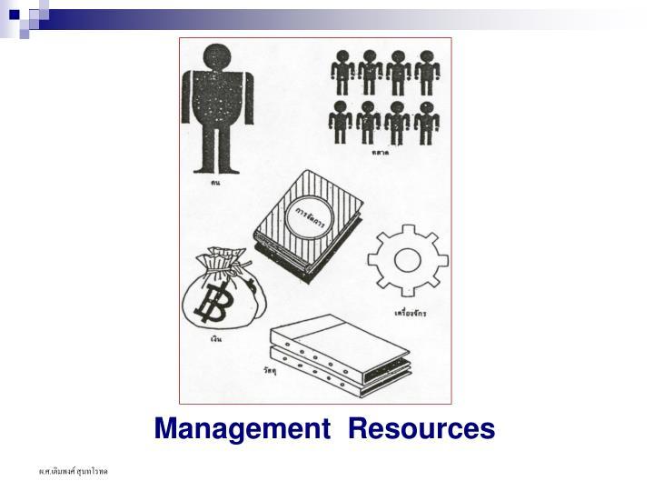Management  Resources