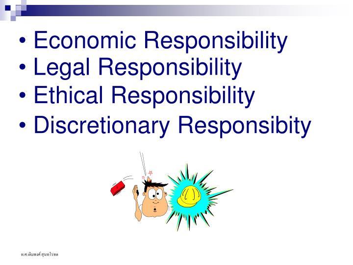 Economic Responsibility