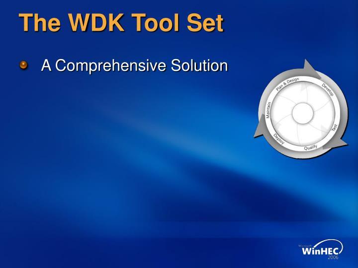 The wdk tool set