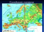 coordonate europene
