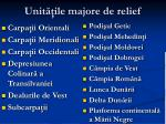 unit ile majore de relief