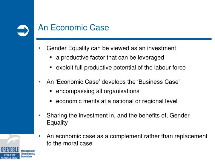 An economic case