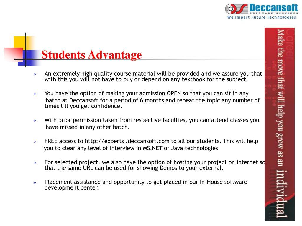 Students Advantage