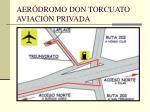 aer dromo don torcuato aviaci n privada