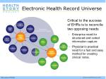 electronic health record universe