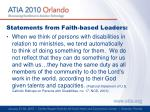 statements from faith based leaders2