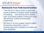 statements from faith based leaders3