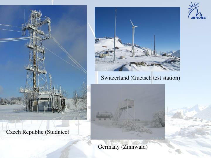 Switzerland (Guetsch test station)