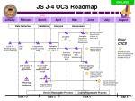 js j 4 ocs roadmap