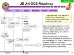 js j 4 ocs roadmap1