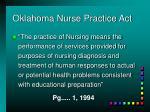 oklahoma nurse practice act1