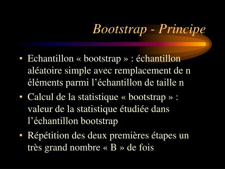 Bootstrap - Principe