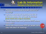 lab 8c information ratings of perceived exertion