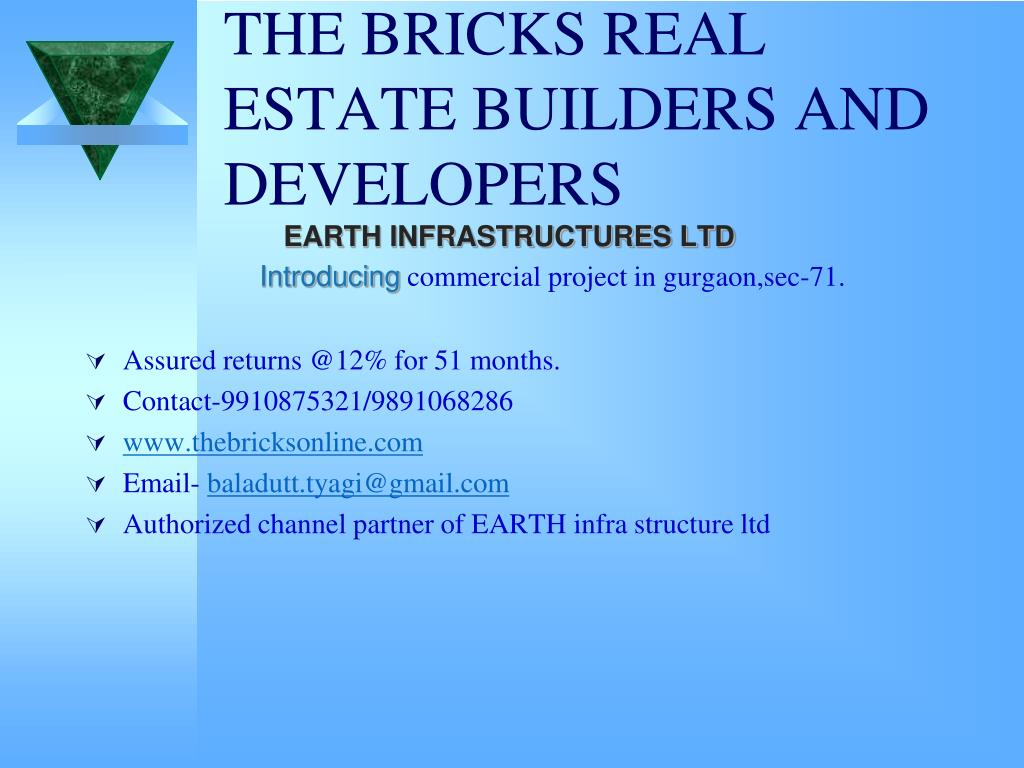 the bricks real estate builders and developers l.
