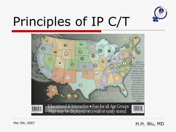 Principles of IP C/T