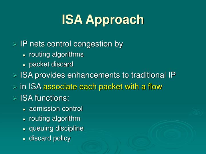 ISA Approach