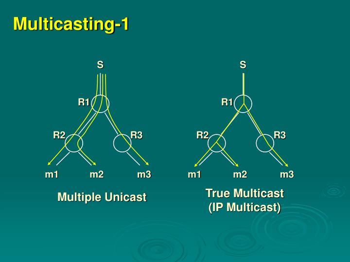 Multicasting 1