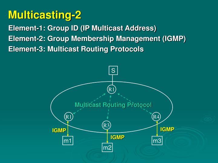 Multicasting 2