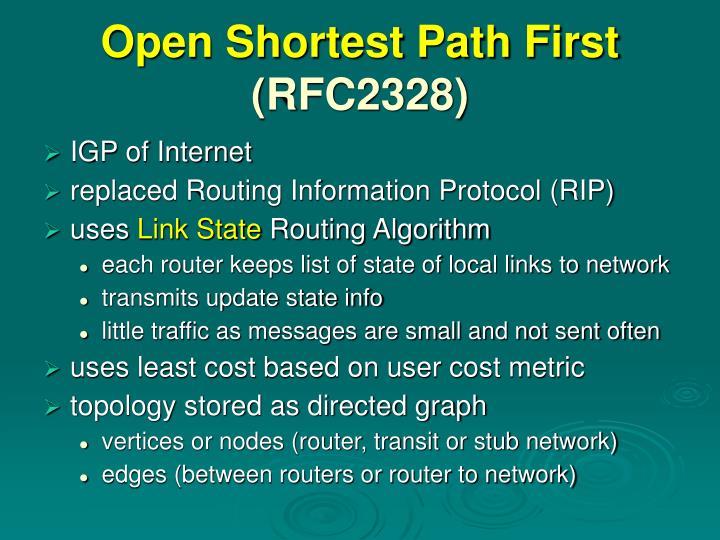 Open Shortest Path First