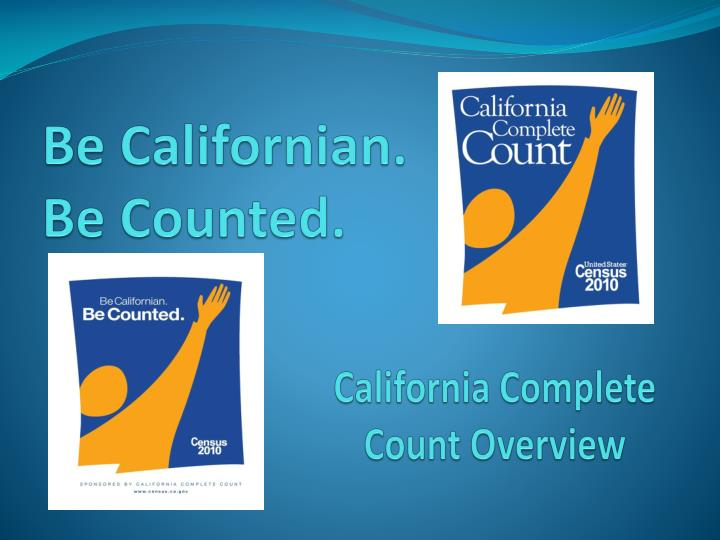 be californian be counted n.