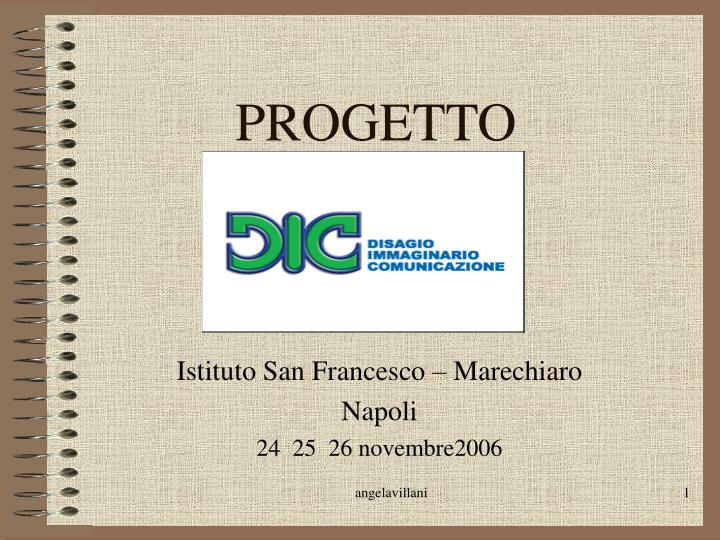 progetto n.