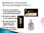 replicaci n y transmisi n del virus del dengue parte 1