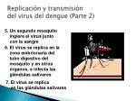 replicaci n y transmisi n del virus del dengue parte 2