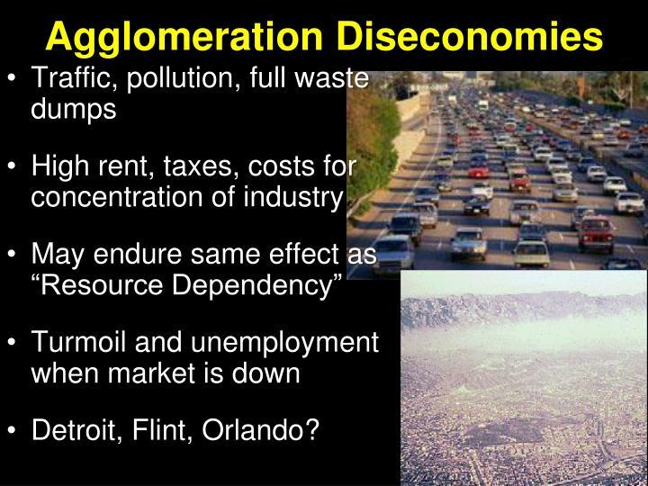 Agglomeration Diseconomies