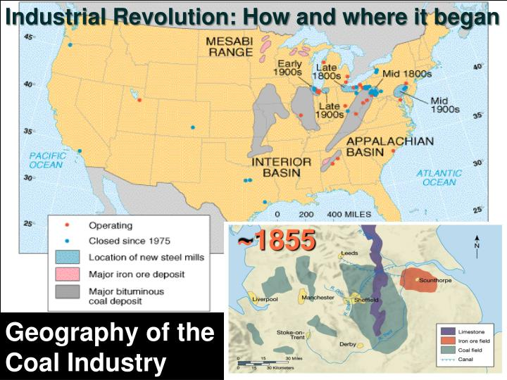 Industrial Revolution: How and where it began