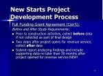 new starts project development process6