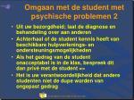 omgaan met de student met psychische problemen 2