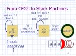 from cfg s to stack machines8