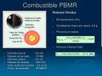 combustible pbmr