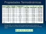 propiedades termodin micas