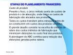 etapas do planejamento financeiro9