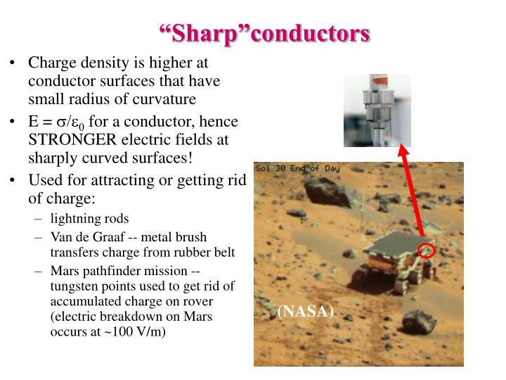 """""""Sharp""""conductors"""
