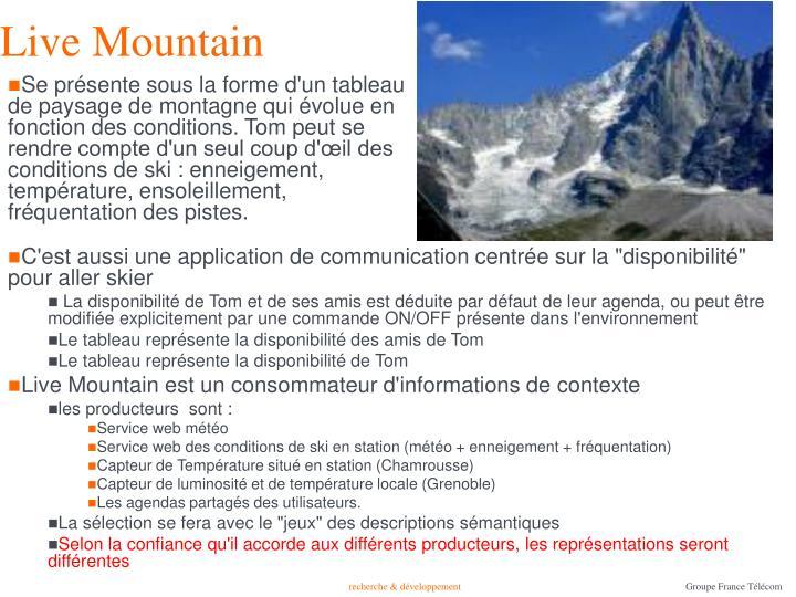 Live Mountain