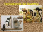 herramientas del neol tico