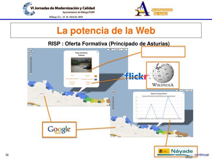 La potencia de la Web