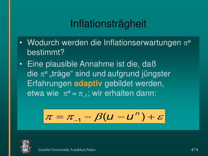 Inflationsträgheit