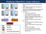 hadoop apache s map reduce