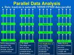 parallel data analysis