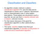 classification and classifiers2