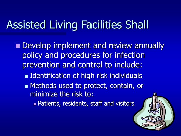 Assisted Living Facilities Shall