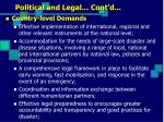 political and legal cont d5