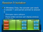 session 0 isolation1