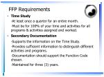 ffp requirements1
