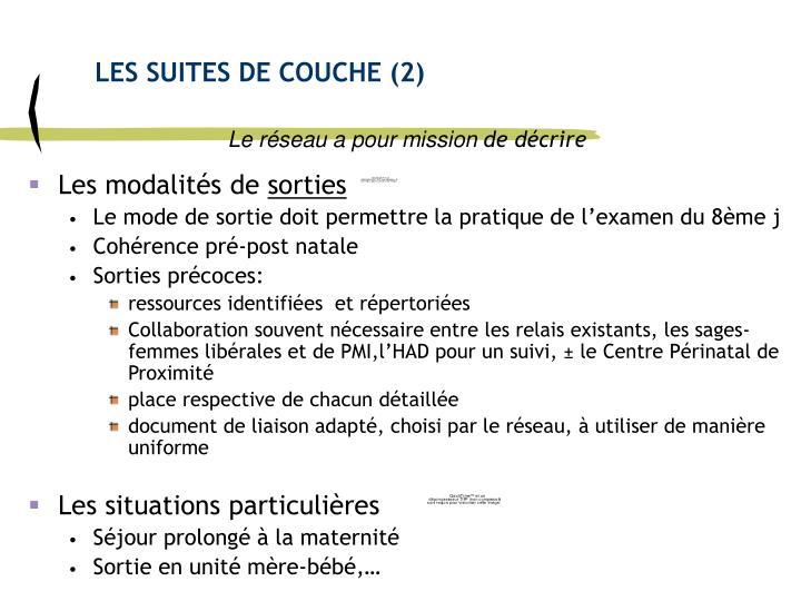 LES SUITES DE COUCHE (2)