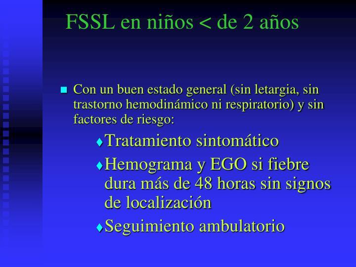 FSSL en niños