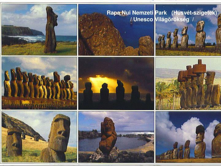 Rapa Nui Nemzeti Park (Húsvét-szigetek)